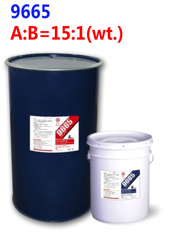 Two component silicone sealant construction adhesive 9665  for insulating glass sealing
